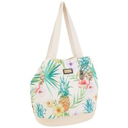 Caribbean Joe Pineapple Beach Bag Gap Tote