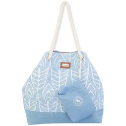 Caribbean Joe Aloha Beach Bag Tote