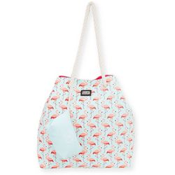 Caribbean Joe Flamingo Beach Bag Tote