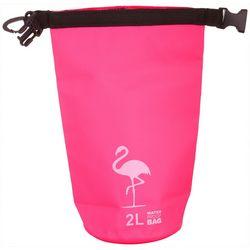 Nupouch 2L Flamingo Print Waterproof Dry Bag