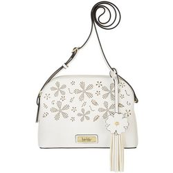 Nicole Miller New York Perforated Crossbody Handbag