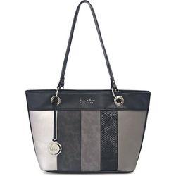 Nicole Miller New York Patch Tote Handbag