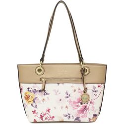 Nicole Miller New York Olive Tote Handbag