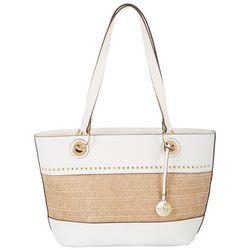 Nicole Miller New York Paradise Embellished Tote Handbag