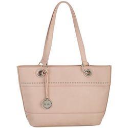 Nicole Miller New York Embellished Olive Tote Handbag