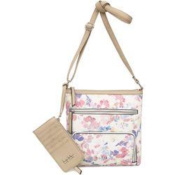 Nicole Miller New York Floral Susan Crossbody Handbag