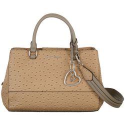 G by Guess Gifford Texture Satchel Handbag