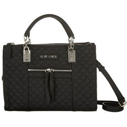 G by Guess Northern Quilted Satchel Handbag