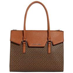 G by Guess Malia Carry All Logo Print Tote Handbag