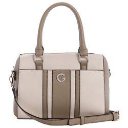 G by Guess Perris Box Satchel Handbag
