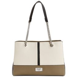 G by Guess Lifestyle Colorblock Satchel Handbag
