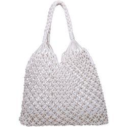 Urban Expressions Penelope Crochet Bucket Handbag
