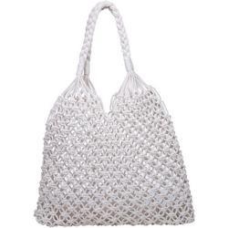 Penelope Crochet Bucket Handbag