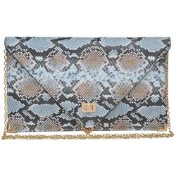 Urban Expressions Cally Snakeskin Crossbody Handbag