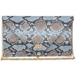 Urban Expressions Cally Snakeskin Crossbody Handbag
