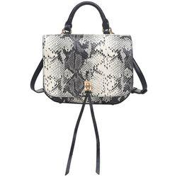 Urban Expressions Alexa Snakeskin Crossbody Handbag