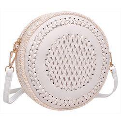 Moda Luxe Mercy Round Crossbody Handbag