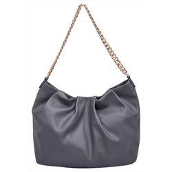 Moda Luxe Danica Ruched Hobo Handbag