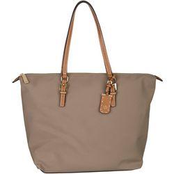 Tommy Hilfiger Julia Solid Nylon Tote Handbag