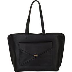 Tommy Hilfiger Tessa Faux Leather Tote Handbag