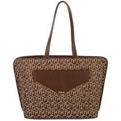 Tommy Hilfiger Tessa Jacquard 3-D Logo Tote Handbag