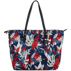 Julia Palms Nylon Tote