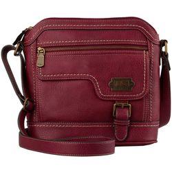 B.O.C. Dakota Burgundy Red Crossbody Handbag