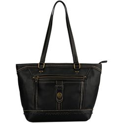 B.O.C. Taylorville Power Bank Tote Handbag