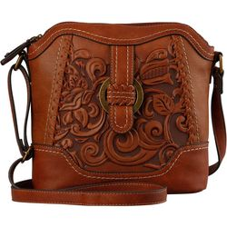 B.O.C. Charleston Tool Embossed Crossbody Handbag