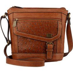B.O.C. Amherst Ostrich Texture Crossbody Handbag