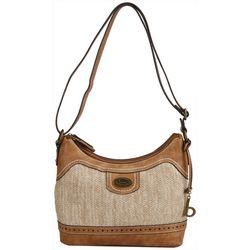 B.O.C. Callahan Straw Crossbody Handbag