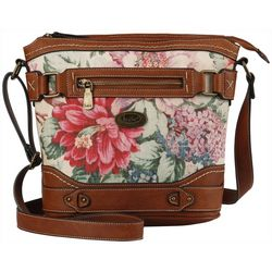B.O.C. Floral Park Crossbody Handbag