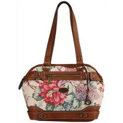 B.O.C. Floral Park Satchel Handbag