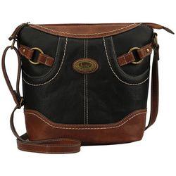 B.O.C. Royalton Two Tone Crossbody Handbag