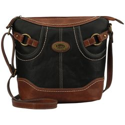 B.O.C. Royalton Two Tone Crossbody Handbag