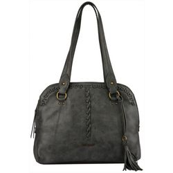 Ellen Tracy Reena Satchel Handbag