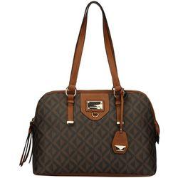 Ellen Tracy Doranton Satchel Handbag