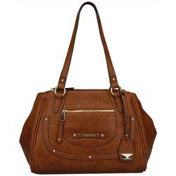 Ellen Tracy Everleigh Satchel Handbag