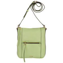 Lodis Hobo Stellene Solid Leather Crossbody Handbag