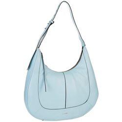 Lodis Hobo Bixby Solid Leather Hobo Handbag