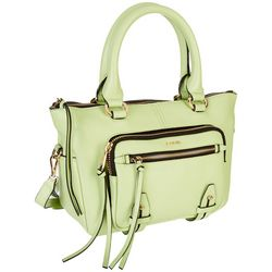 Lodis Hobo Ellie Small Leather Satchel Handbag