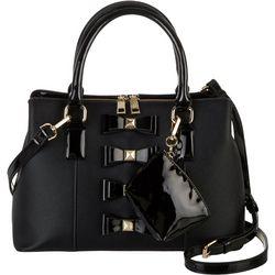 Betsey Johnson Stuf Muffin Satchel Handbag