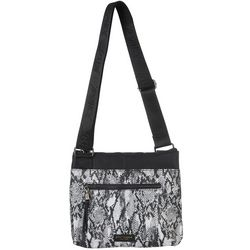 Betsy Johnson Gone Wild Snakeskin Crossbody Handbag