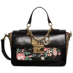 Betsey Johnson Vintage Vibes Crossbody Satchel Handbag
