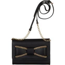 Diana Bow Wallet On A Chain Crossbody Handbag