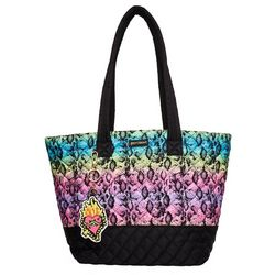 Betsey Johnson Day In Day Out Rainbow Tote
