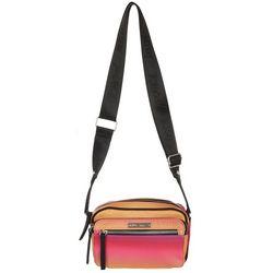 Betsey Johnson Double Pocket Crossbody Handbag