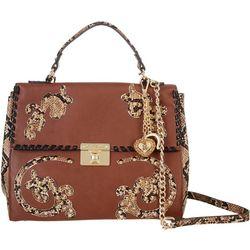 Betsey Johnson Wild West Satchel Handbag