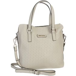 Steve Madden Trevor Preforated Mini Tote Handbag