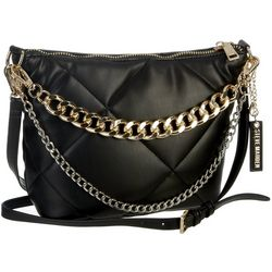Steve Madden Dumbo Quilted Chain Accent Crossbody Bag